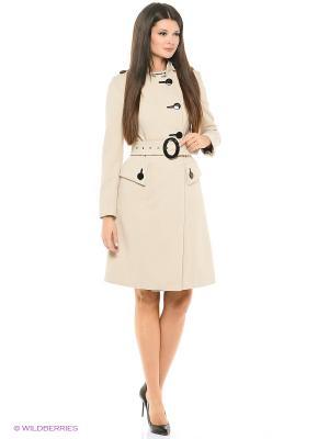 Длинное пальто MONDIAL. Цвет: бежевый