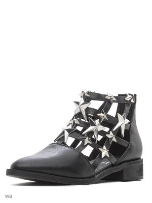 Ботинки EEIGHT. Цвет: черный