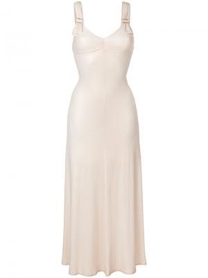 Платье Charo Maria Lucia Hohan. Цвет: телесный