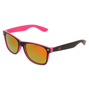 Очки  Sunglasses Black/Pink Nomad. Цвет: черный,розовый