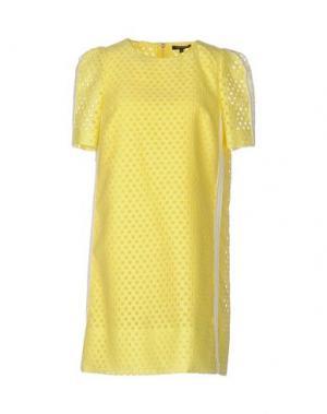 Короткое платье TARA JARMON. Цвет: желтый