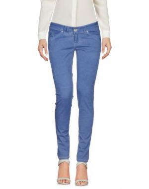 Повседневные брюки XTSY. Цвет: пастельно-синий