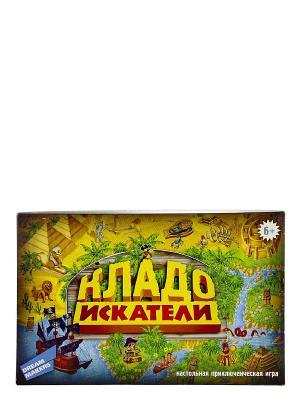 Детская настольная игра Кладоискатели DREAM MAKERS. Цвет: желтый