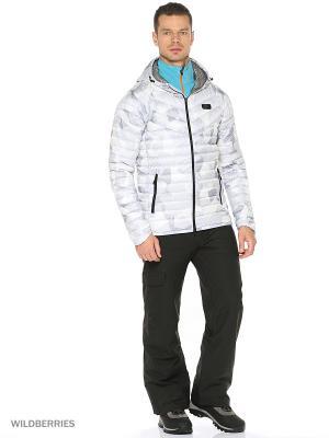Куртка M NSW JKT HD DN FLL AOP GUILD Nike. Цвет: белый