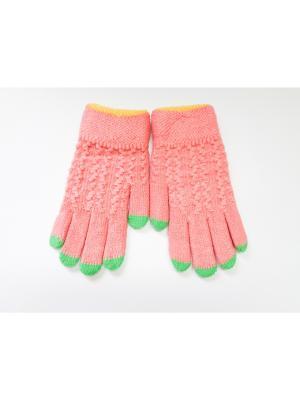 Перчатки Cascatto. Цвет: терракотовый