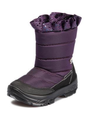 Дутики Alaska Originale. Цвет: темно-фиолетовый