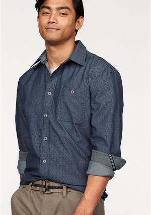 Рубашка Minimals Rhode Island. Цвет: темно-синий в горох
