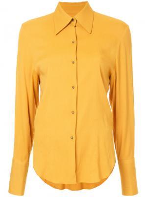 Рубашка Rationalist Bianca Spender. Цвет: жёлтый и оранжевый