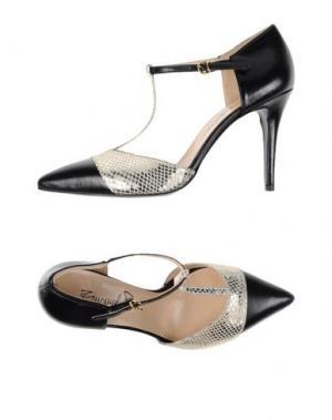 Туфли EMANUELA PASSERI. Цвет: черный