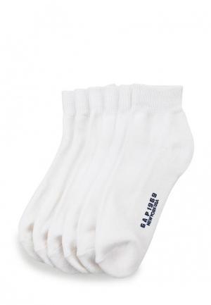 Комплект носков 6 пар Gap. Цвет: белый