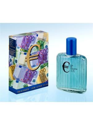 Туалетная вода Евро, 100 мл Парад Звезд. Цвет: синий