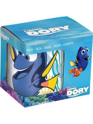 Кружка керамическая в подарочной упаковке (220 мл). поисках Дори Stor. Цвет: белый, голубой, красный, синий