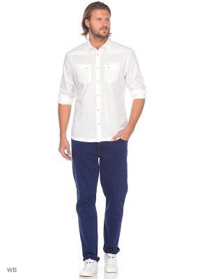 Рубашка WESTERN Wrangler. Цвет: белый