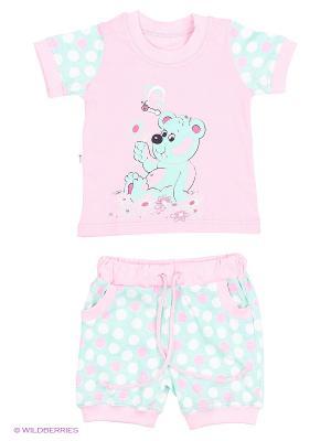 Комплекты одежды для малышей Русь симбирская. Цвет: розовый