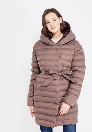 Куртка утепленная Odri Mio. Цвет: бежевый