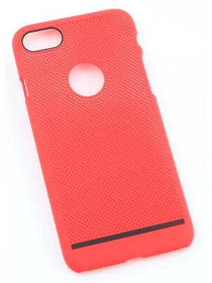 Накладка задняя для APPLE iPhone 7, 8 Радужки. Цвет: красный