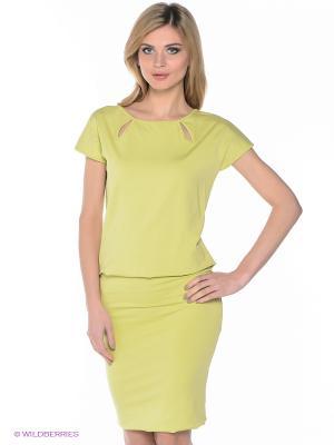 Платье Elena Shipilova. Цвет: салатовый