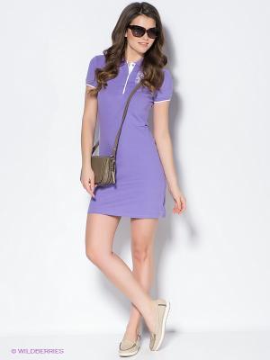 Платье Baon. Цвет: сиреневый
