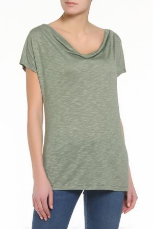 Блузка ZERO. Цвет: зеленый