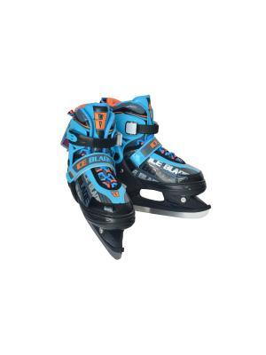 Коньки раздвижные ICE BLADE Skyline 1/6. Цвет: голубой