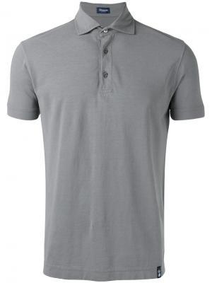 Classic polo shirt Drumohr. Цвет: серый