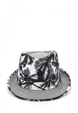 Шляпа Modis. Цвет: черно-белый