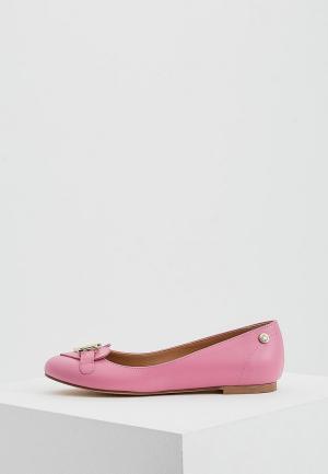 Балетки Love Moschino. Цвет: розовый