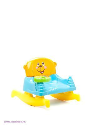 Развивающий центр Стульчик-качалка PlayGo. Цвет: голубой, желтый