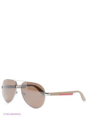 Солнцезащитные очки CARRERA. Цвет: бежевый