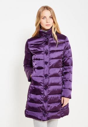 Куртка утепленная Love Moschino. Цвет: фиолетовый