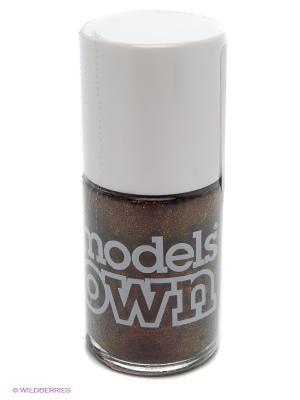 Лак для ногтей, Beetlejuice Pinky Brown  Models Own. Цвет: бронзовый