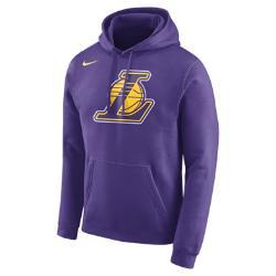Мужская флисовая худи НБА Los Angeles Lakers Nike. Цвет: пурпурный