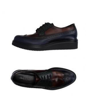 Обувь на шнурках JEANNOT. Цвет: темно-синий