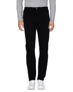 Повседневные брюки BRUNO BORDESE. Цвет: черный