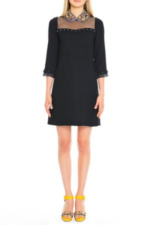 Платье Cantarelli. Цвет: черный