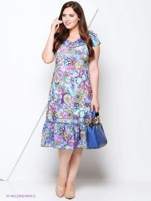 Платье Полина. Цвет: сиреневый