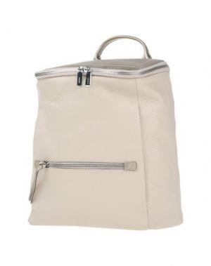 Рюкзаки и сумки на пояс GIUDI. Цвет: бежевый