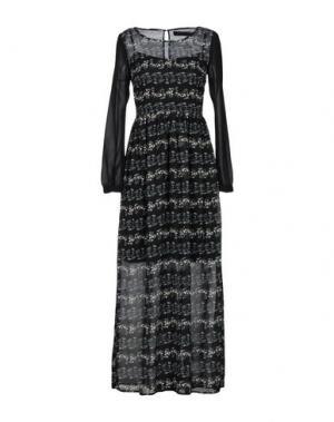 Длинное платье ANGEL EYE. Цвет: черный