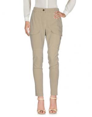 Повседневные брюки GUNEX. Цвет: песочный