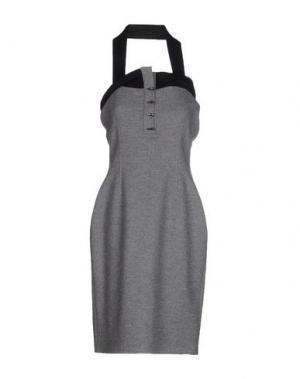 Платье до колена SOPHIA KOKOSALAKI. Цвет: серый