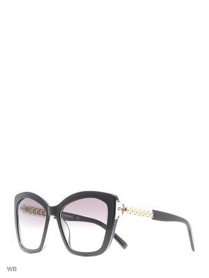 Очки солнцезащитные KL 927S 001 Karl Lagerfeld. Цвет: черный