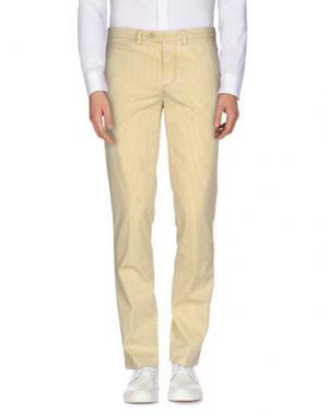 Повседневные брюки PIATTO. Цвет: желтый