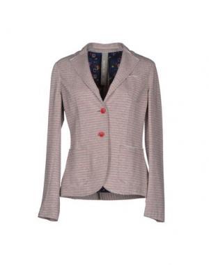 Пиджак MANUEL RITZ. Цвет: фуксия