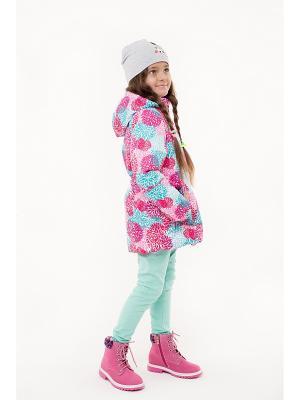 Куртка NIKASTYLE. Цвет: розовый