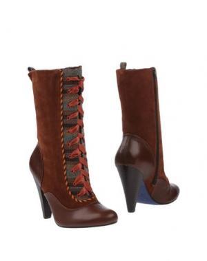Полусапоги и высокие ботинки POETIC LICENCE. Цвет: коричневый