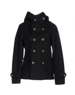 Пальто LOST IN ALBION. Цвет: темно-синий