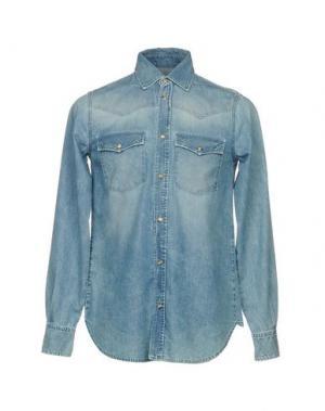 Джинсовая рубашка BOY LONDON. Цвет: синий