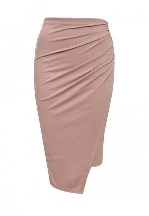 Юбка Miss Selfridge. Цвет: розовый