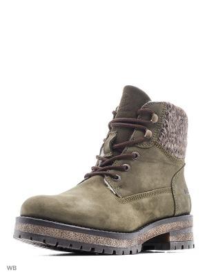 Ботинки DOCKERS.. Цвет: оливковый