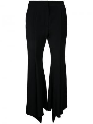 Укороченные расклешенные брюки Goen.J. Цвет: чёрный